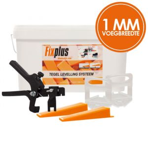 Fix Plus Levelling Systeem 1mm XL Kit
