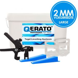 Qerato Levelling Systeem 2mm Large